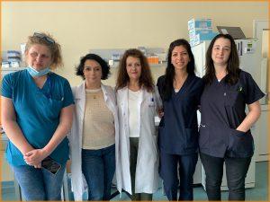 The team of Prof. Ivanova